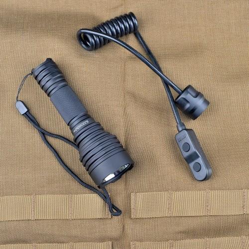 Мощен подцевен фенер Dulotec C8+ Shooter 950 м далекобойност
