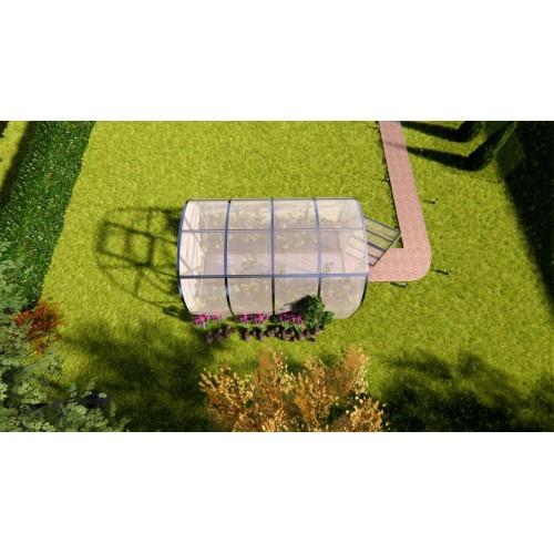 Оранжерия от Поликарбонат Sorbe Amber 3 х 4 м