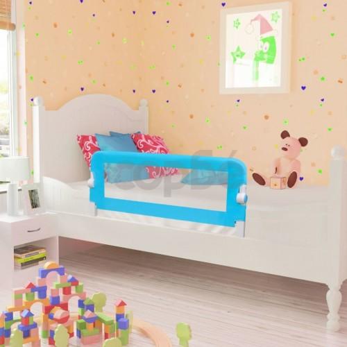 Ограничител за бебешко легло, 102 x 42 см, син