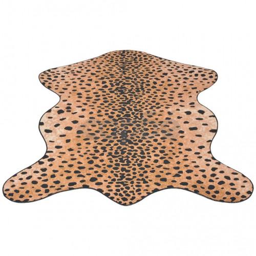 Килим 150 x 220 см, гепардова шарка и форма