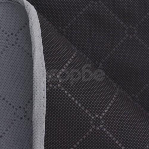 Одеяло за пикник, сиво и черно, 150x200 см
