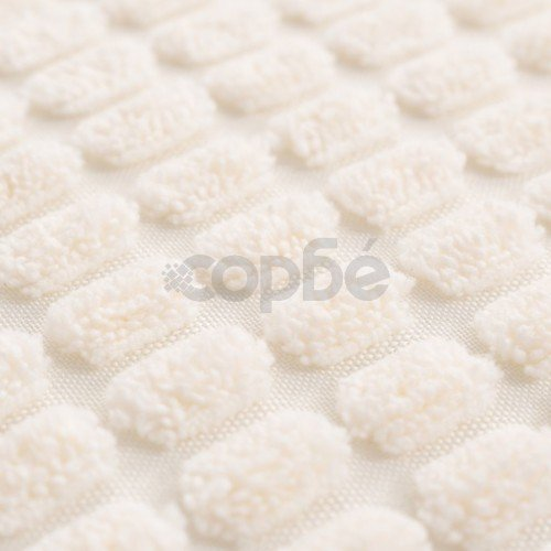 Комплект възглавници, 2 бр, велур, 40x60 см, белезникави