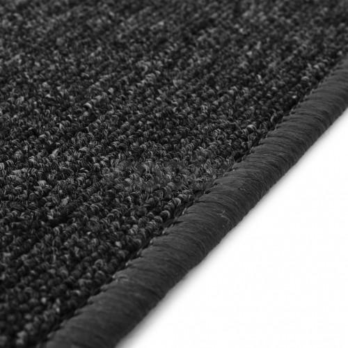 Килим от усукани влакна, 80x150 см, антрацит