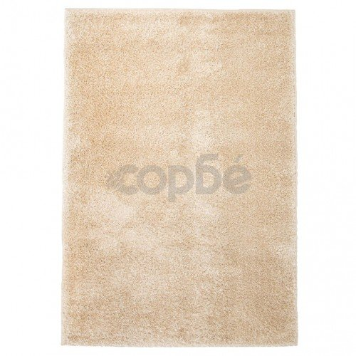 Рошав килим тип шаги, 160x230 см, бежов
