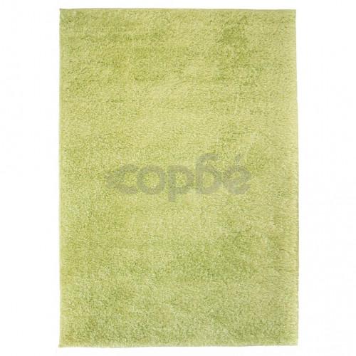 Рошав килим тип шаги, 140x200 см, зелен