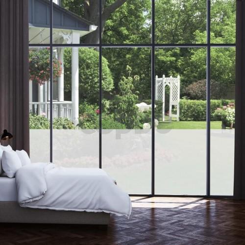 Самозалепващо фолио за прозорци, заскрежен мат, 0,9 х 100 м