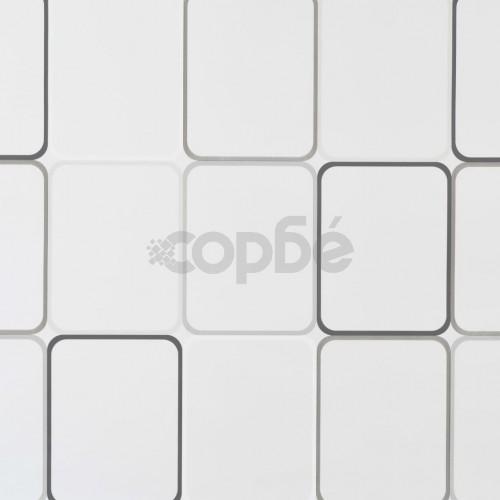 Ролетна щора за баня, 120x240 см, квадрати
