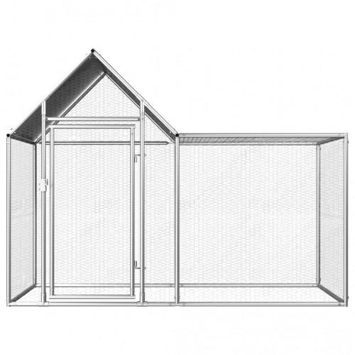 Птичарник, 2x1x1,5 м, поцинкована стомана