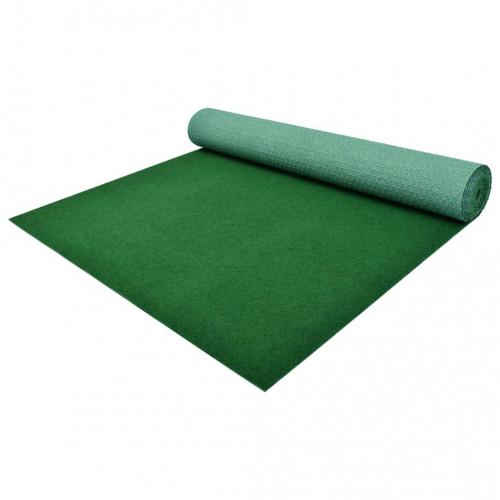 Изкуствена трева с шипове, PP, 10x1,33 м, зелена