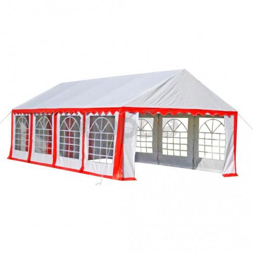 Парти шатра, 8х4 м, червена