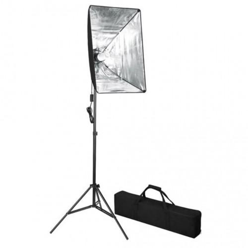 Комплект за фото студио със софтбокс и маса за заснемане