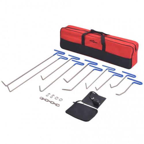 PDR инструменти за поправка, 16 части, неръждаема стомана
