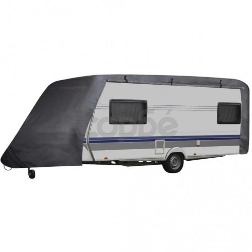Покривало за каравана, сиво, размер L