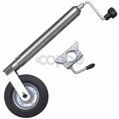 Опорно колело с една скоба, 48 мм
