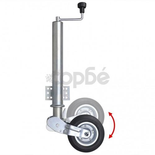Сгъваемо здраво опорно колело, 60 мм