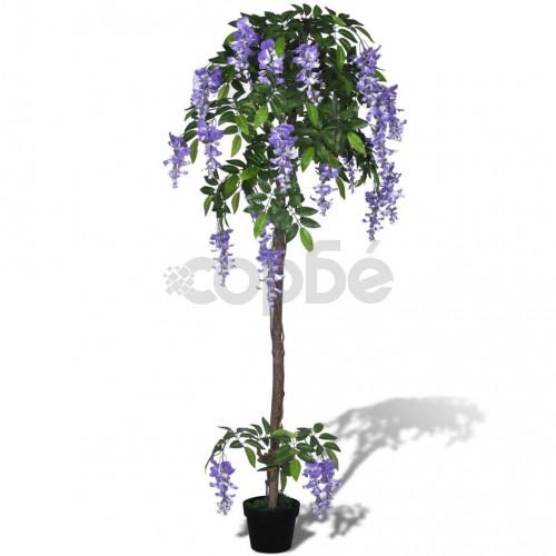 Изкуствено дърво Глициния в саксия 160 см