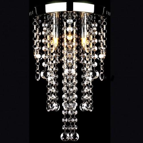 Лампа за таван с кристални орнаменти
