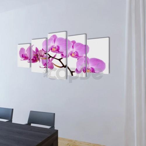 Декоративни панели за стена Орхидея, 200 x 100 см