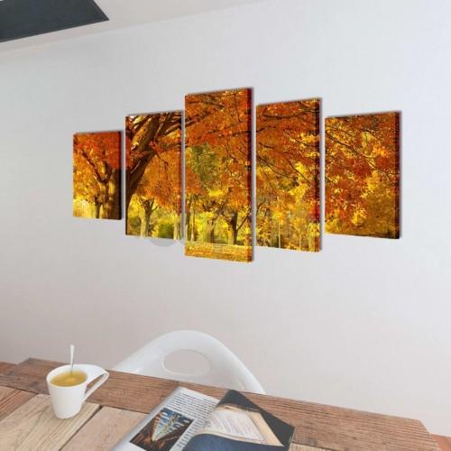 Декоративни панели за стена Клен, 200 x 100 см