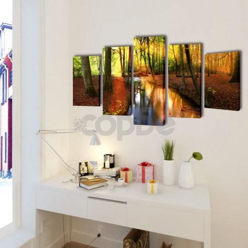 Декоративни панели за стена Гора, 200 x 100 см