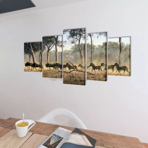 Декоративни панели за стена Зебри, 200 x 100 см