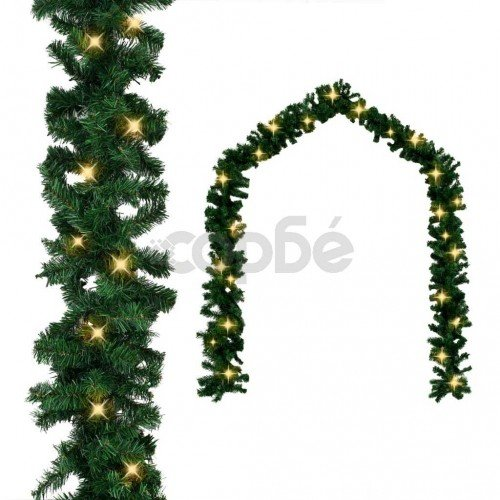 Коледен гирлянд с LED лампички, 20 м