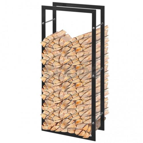 Правоъгълна рамка за дърва за огрев, 100 см