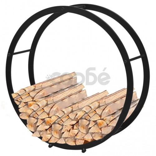 Кръгла рамка за дърва за огрев