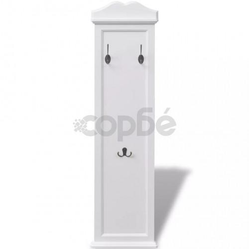 Закачалки, 2 бр, бели