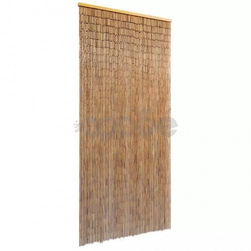 Ресни за врата от бамбук, 90x200 cм