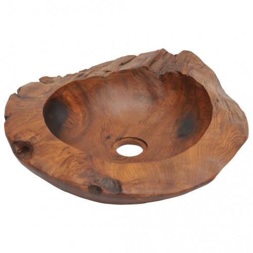Мивка от тиково дърво, 45 см