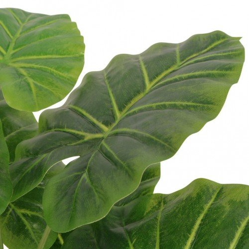 Изкуствено растение трилистник със саксия, 45 см, зелено