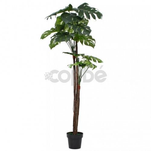Изкуствено растение монстера в саксия, 170 см, зелено