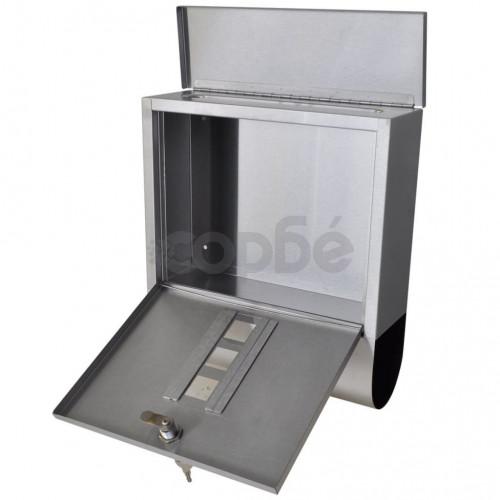 Пощенска кутия на стойка, неръждаема стомана
