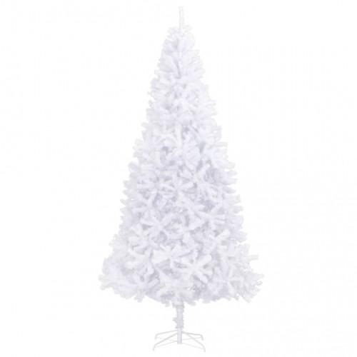 Изкуствено коледно дърво, 300 см, бяло