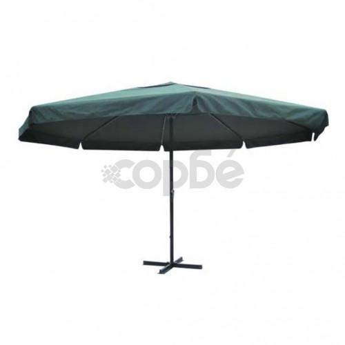 Чадър за слънце, 500 см, зелен