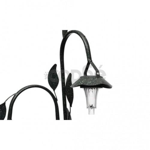 Соларна лампа с кошници за цветя