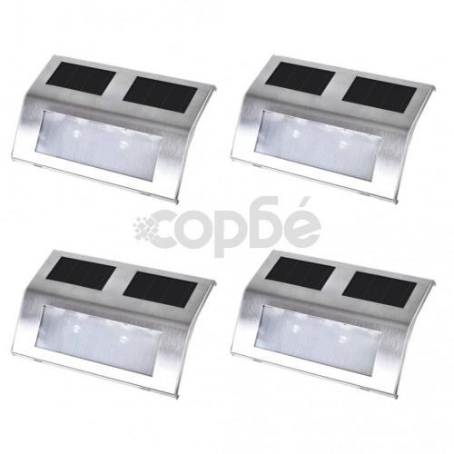 Соларни лампи за стълби – 4 броя