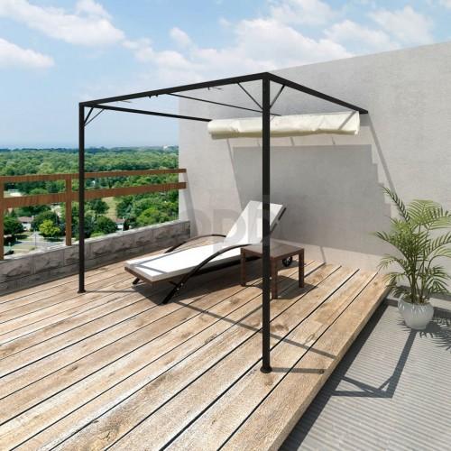 Градински сенник / шатра за монтиране на стена