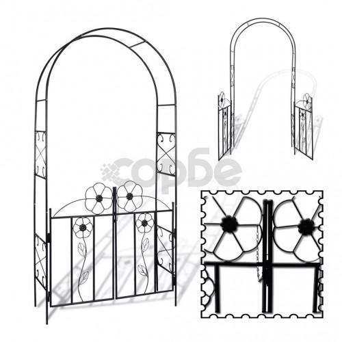 Градинска арка – врата