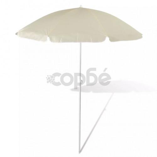 Плажен чадър, 180 см, пясъчножълт
