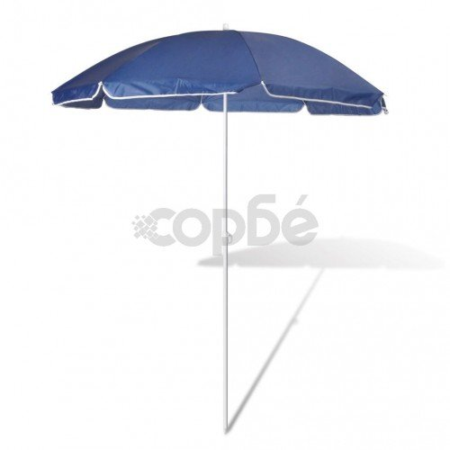 Плажен чадър, 180 см, син