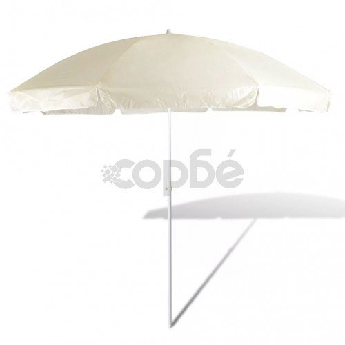 Плажен чадър, 300 см, пясъчножълт