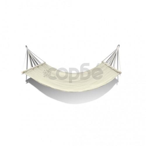 Хамак с дървени летви, кремав, 210 x 150 см