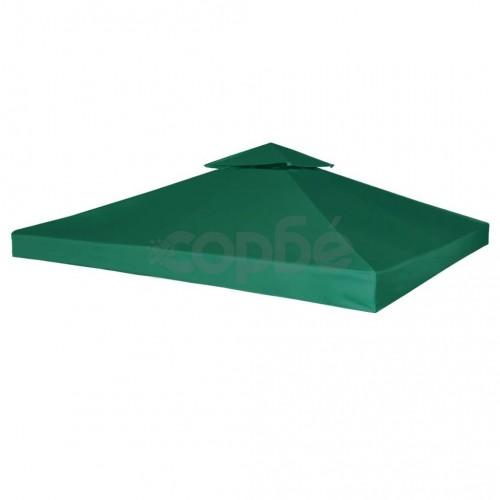 Покривало за шатра, резервно, зелено, 310 гр/м², 3х3 м