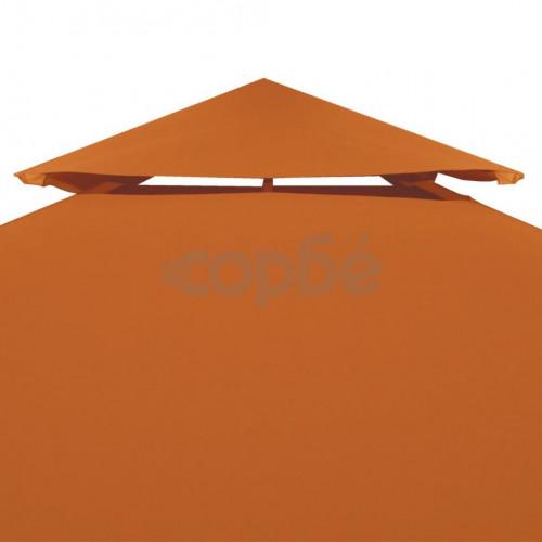 Покривало за шатра, резервно, теракота, 310 гр/м², 3х3 м