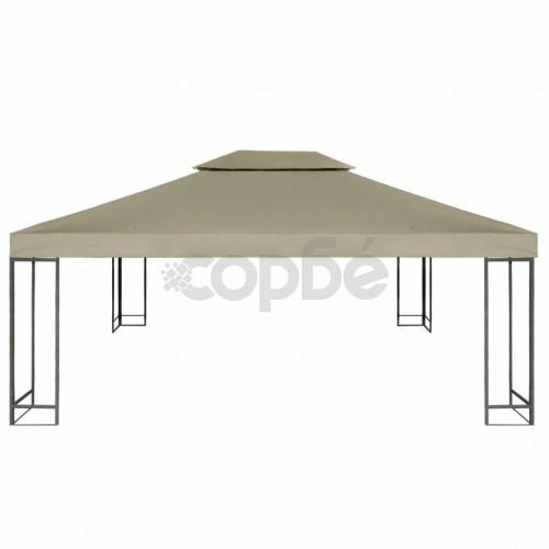 Покривало за шатра, резервно, 310 г/м², бежово, 3х4 м
