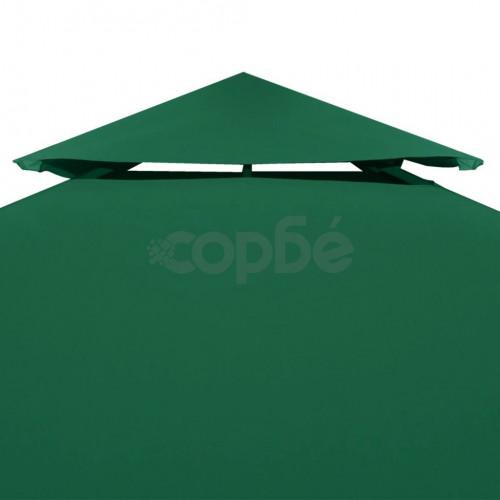 Покривало за шатра, резервно, зелено, 310 гр/м², 3х4 м