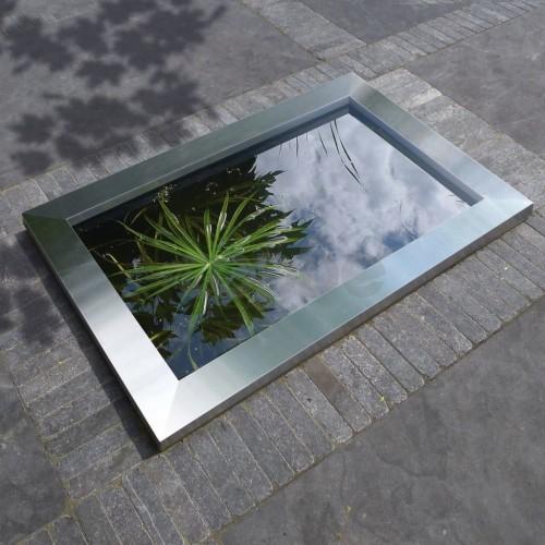 Ubbink Quadra C3 рамка за езерце от неръждаема стомана