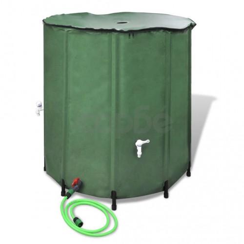 Сгъваем резервоар за дъждовна вода, 500 литра